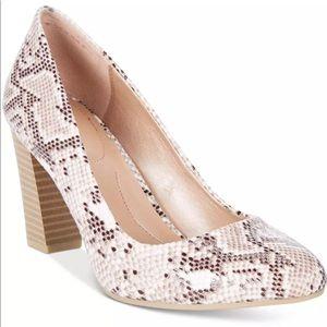 NEW Style & Co Women's Asyaaf Pump Heels Snake